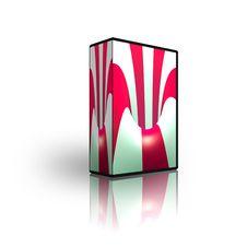 Free Blank CD DVD Box Template Stock Photos - 9486673