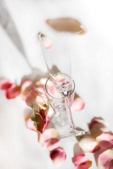 Free Wedding Wineglass 3D Stock Photo - 9486940