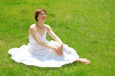 Free Summer Woman Royalty Free Stock Photo - 9487135