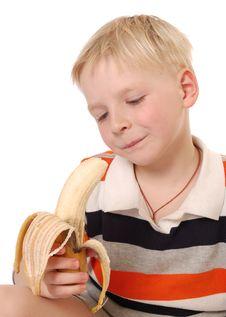 Free Banana Boy Stock Photos - 9487283