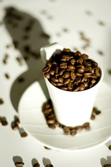 Free Coffe Cup Royalty Free Stock Photos - 9487878