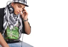 Free Cool Diskjockey Stock Image - 9487911