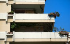 Free Balconies Royalty Free Stock Photography - 9487967