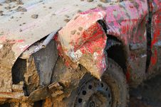 Free Muddy Car Royalty Free Stock Photography - 9488377