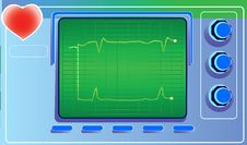 Free Cardiograph Stock Photography - 9489622