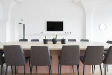 Free Meeting Room Table Stock Image - 94886941