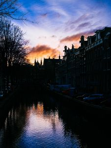 Free Canals Of Amsterdam Royalty Free Stock Image - 94887056