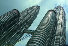 Free Twin Skyscraper Petronas Towers, Malaysia Stock Images - 94887324