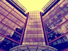 Free Modern Downtown Office Building Stock Images - 94887364