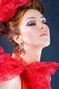 Free Beauty With Closed Eyes Royalty Free Stock Image - 9499956