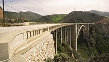Free Bixby Creek Bridge Royalty Free Stock Photos - 9490028
