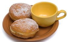 Free Two Sweet Buns Stock Photography - 9492532