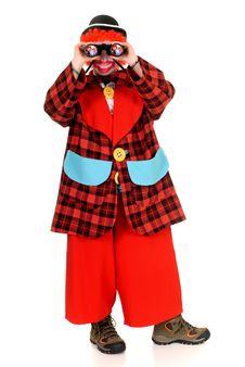 Free Happy Clown Stock Photography - 9492632