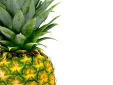 Free Ripe Pineapple Background Stock Photography - 9493272