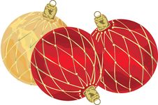 Free Christmas Balls Royalty Free Stock Photo - 9493685
