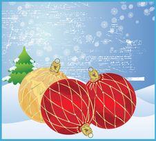 Free Christmas Balls Stock Images - 9493854