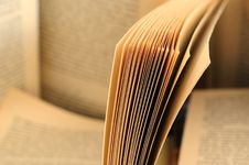 Free Opened Book Royalty Free Stock Image - 9494386