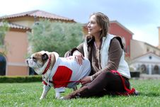 Free English Bulldog Royalty Free Stock Image - 9494536