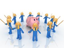 Free Piggy Bank Stock Image - 9494631