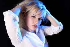 Free Young Blondie Stock Image - 9494771