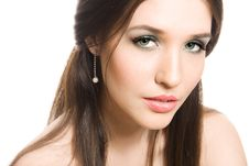 Free Beautiful Young Brunette Woman Royalty Free Stock Images - 9494849