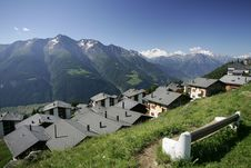 Free Bettmeralp Stock Images - 9495284