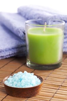 Free Spa Salt Royalty Free Stock Photo - 9495305