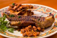 Free Mexican Traditional Dinner Royalty Free Stock Image - 9496766