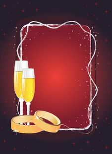 Free Invitation Background Royalty Free Stock Images - 9497229