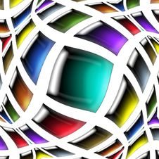 Free Twisted   Color  Square Stock Images - 9497454