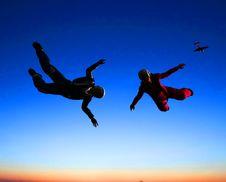 Free Sportsmen-parashutist Stock Photos - 9498703