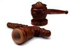 Free Shaman Pipe For Hashish Royalty Free Stock Photos - 9498708