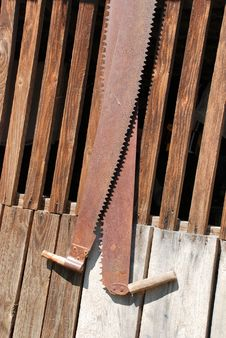 Free Bow Saw Stock Photography - 9499112