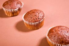 Free Chocolate Muffins Royalty Free Stock Photo - 9499745