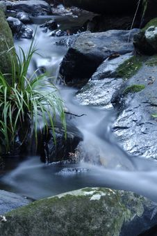 Free Downhill Flowing Water Royalty Free Stock Photo - 9499905