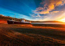Free Sunset On Beach Stock Photography - 94945662