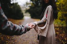Free Close-up Photo Of Couple Holding Hands Stock Image - 94983611