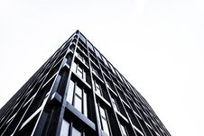 Free High Rise Building In Glass And Steel Royalty Free Stock Image - 94983676