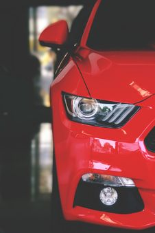 Free Close Up Of Car Headlight Stock Photo - 94983770
