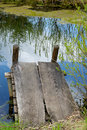 Free Cosy Nook At A Spring Pond Royalty Free Stock Image - 952716