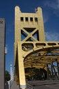 Free Golden Bridge Royalty Free Stock Photo - 953955