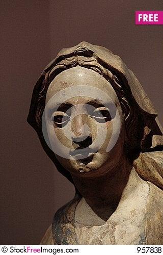 Free Head Of Madonna Royalty Free Stock Photos - 957838
