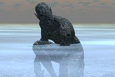 Free Stone Goblin Stock Image - 950971