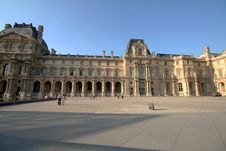 Free Louvre Building Stock Image - 951011