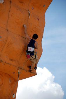 Free Rock Climber 2 Stock Photography - 951222