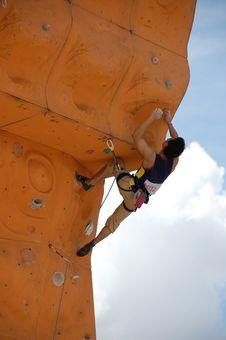 Free Rock Climber 2 Royalty Free Stock Photo - 951225