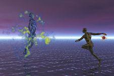 Free Mage Battle At Night Stock Photo - 951290