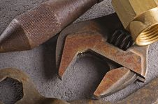 Free Tools Rusting Stock Image - 951571
