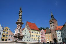 Free Landsberg Main Square Stock Photography - 951622