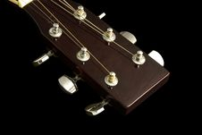 Free Guitar Head Royalty Free Stock Photography - 951707